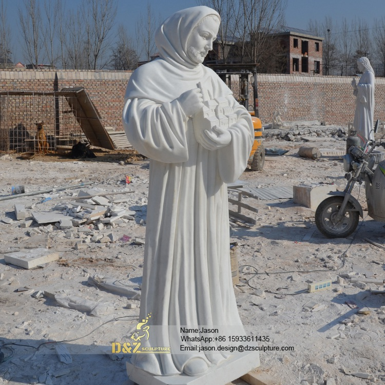 Statue Of Religious Woman