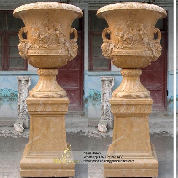 Art style flower pot