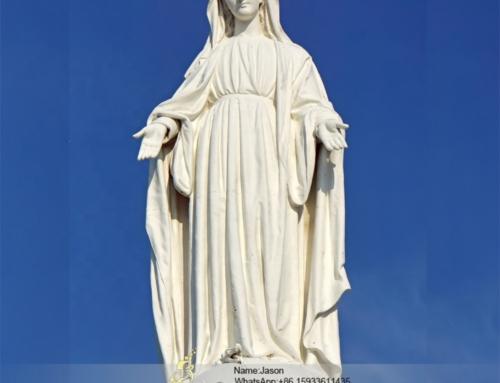 Virgin mary garden statues