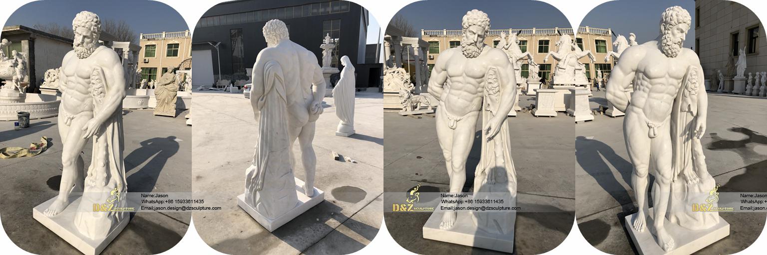 Hercules sculpture