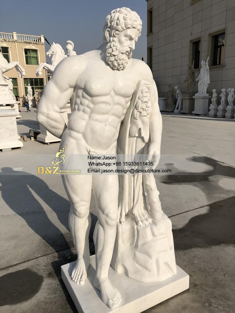 sculpture of Hercules sculpture