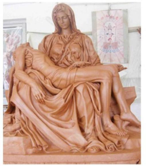 Pieta statue life size