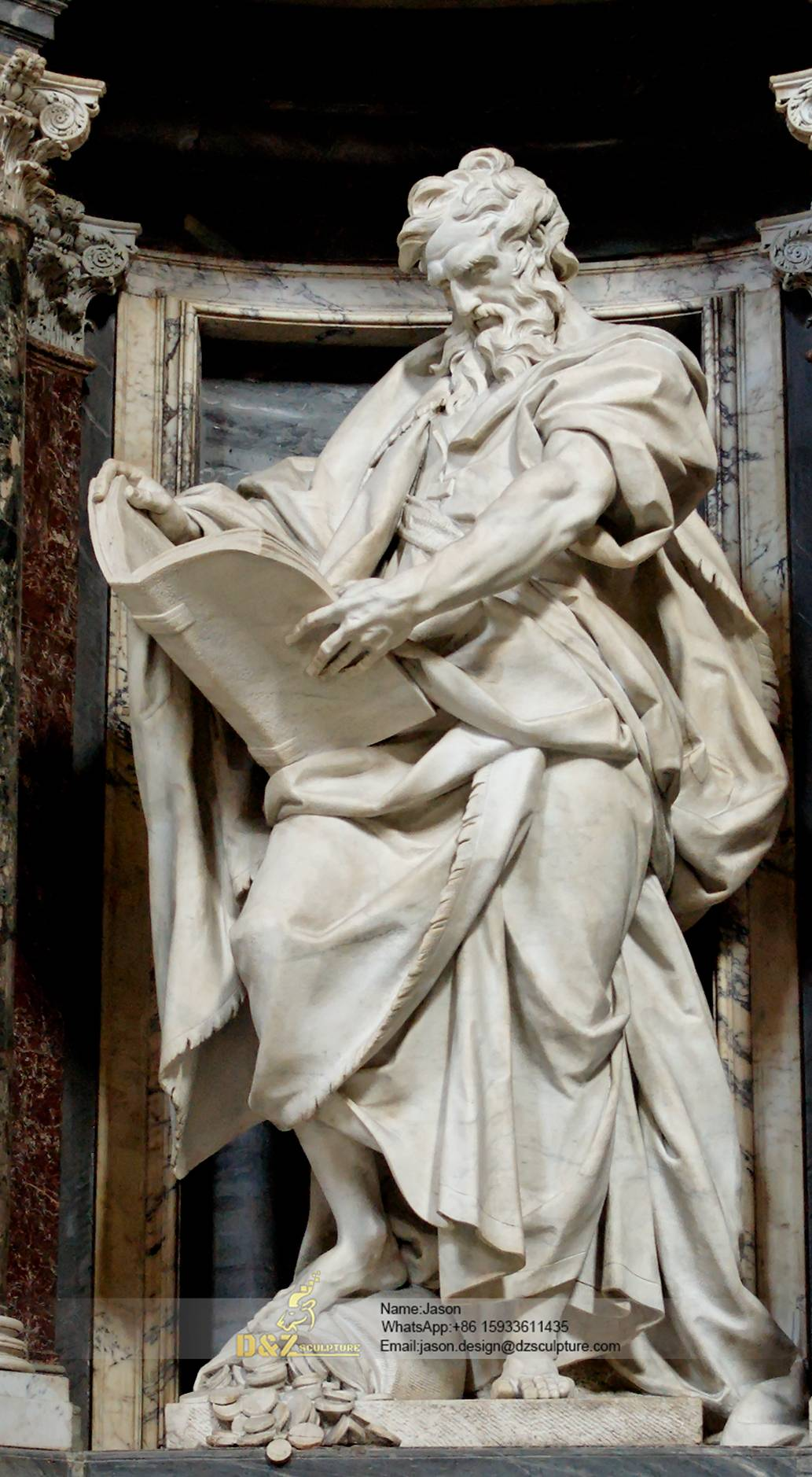 St.Matthew sculpture