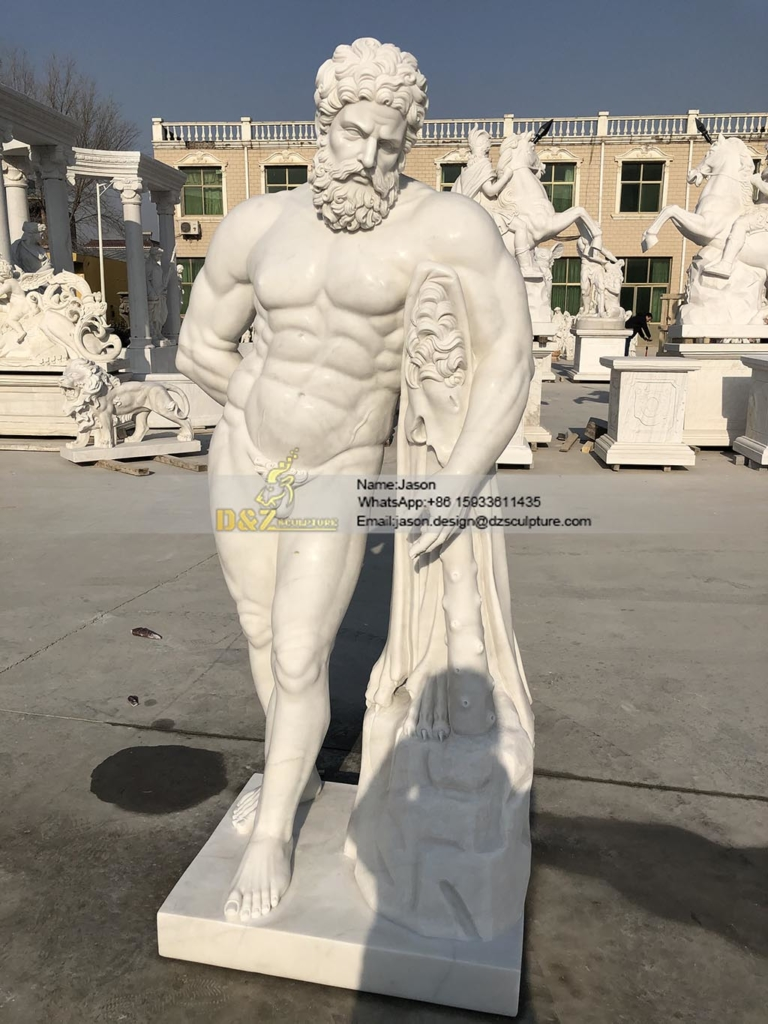 statue of Hercules sculpture