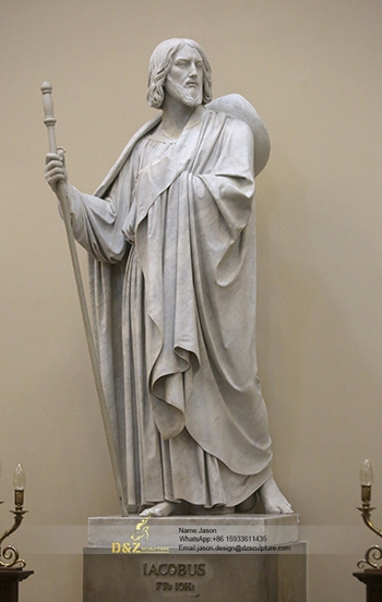 Statue of John's brother