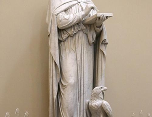 Statue of st john