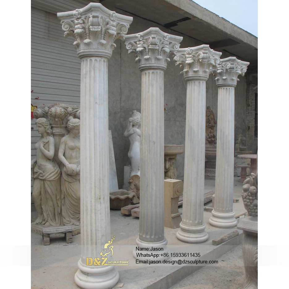 Decorative pillar moulding design