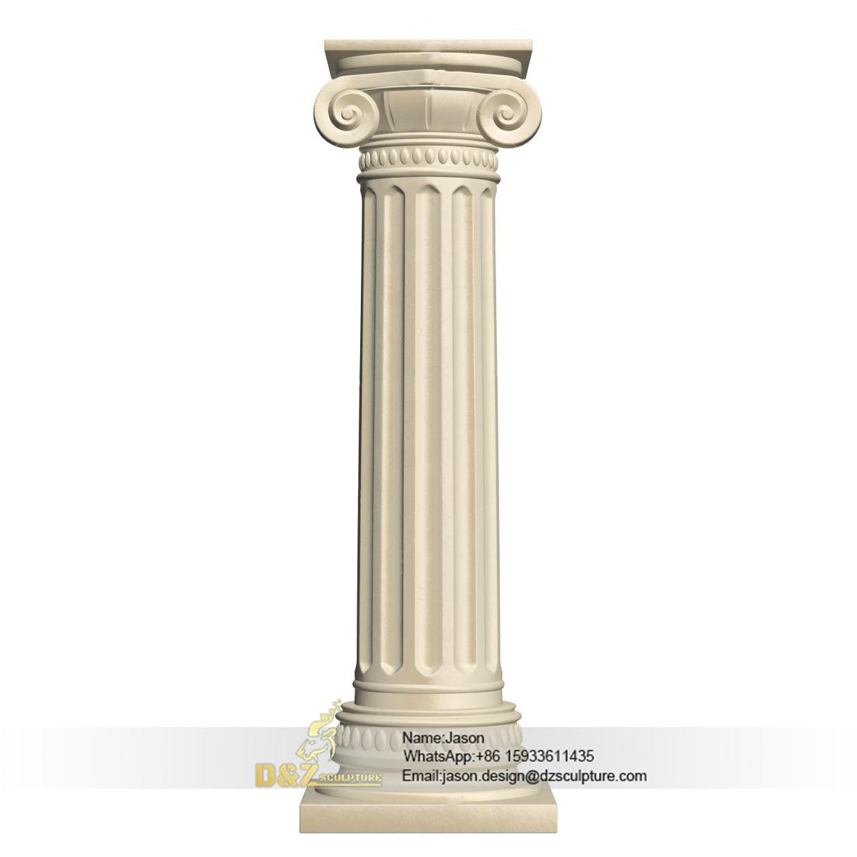 Round pillar design