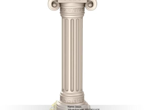 Marble pillar design