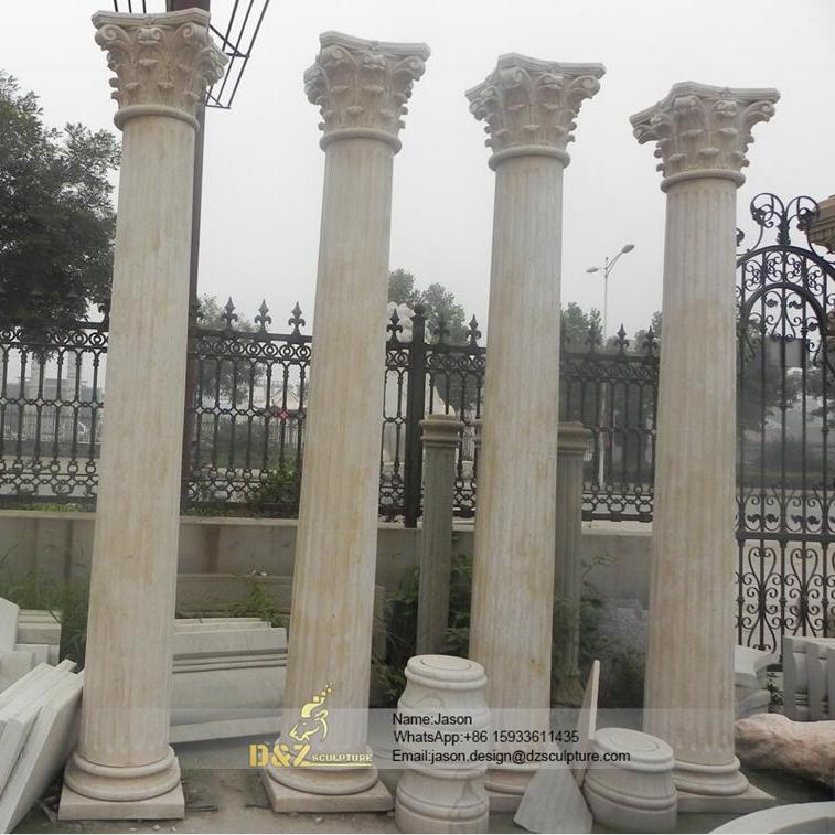 Roman pillar column