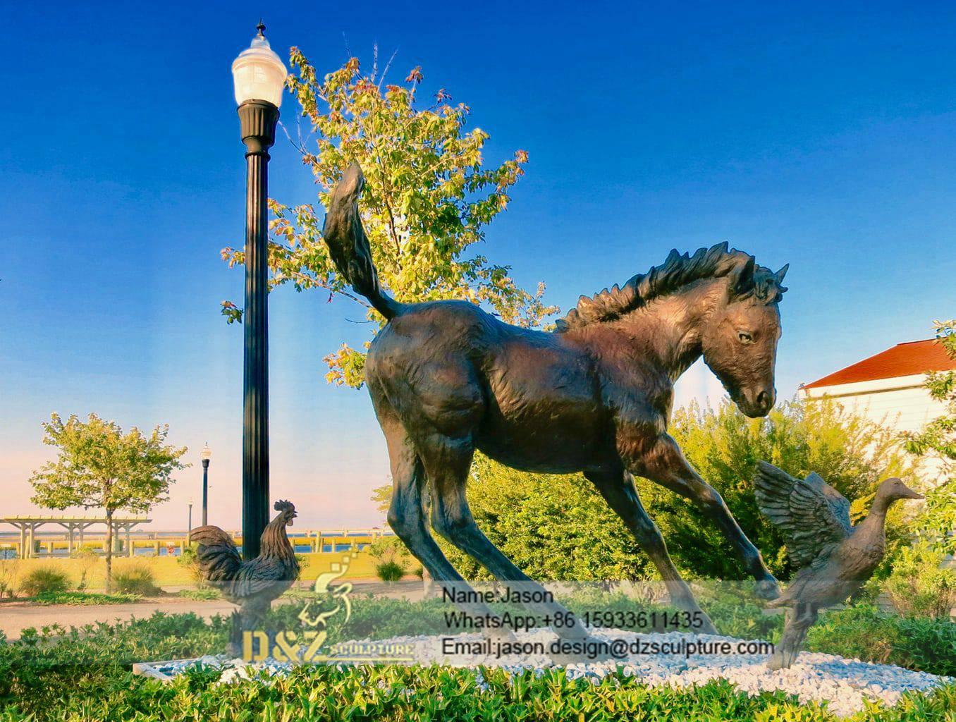 Pony Statue Chincoteague