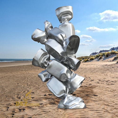 stainless steel statue