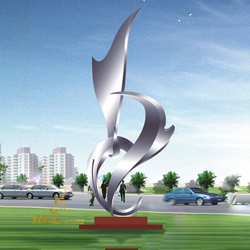 stainless steel statues