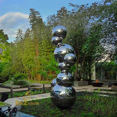 stainless steel bulls sculpture