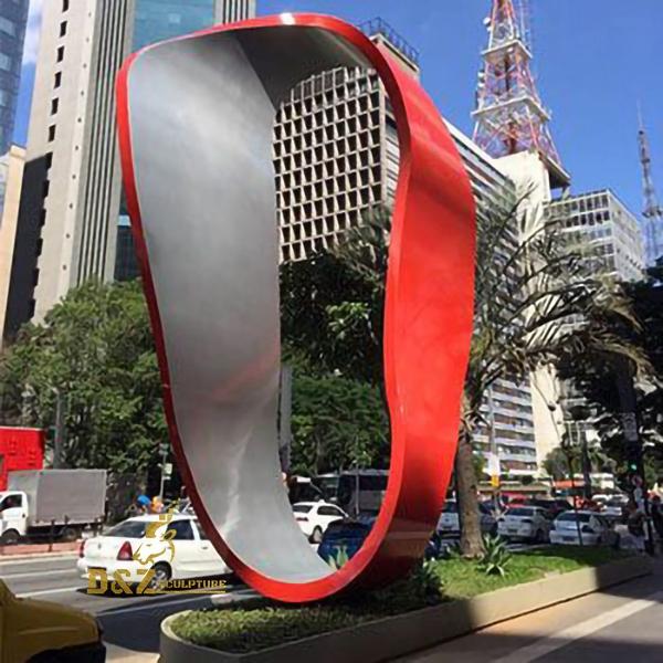 sculptures stainless steel outdoor