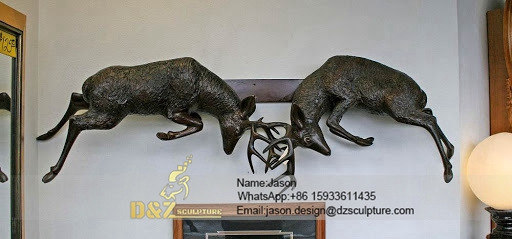 Wall decoration deers